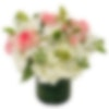 Celadon and Salmon Deluxe Flower Arrangement
